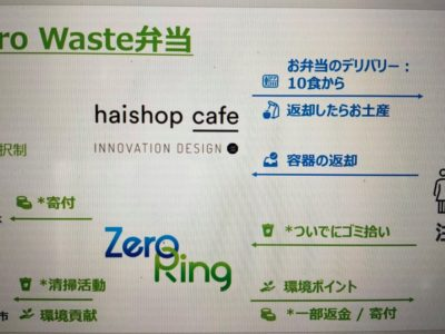 5/22 #おたがいハマ トーク vol.146 ゼロウェスト弁当『Zero Ring Project』とは(Zero Ring連携企画)