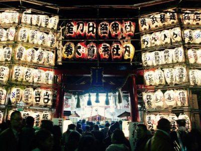 [NEWS] 金刀比羅大鷲神社「酉の市」の露店や奉納提灯設営が中止に